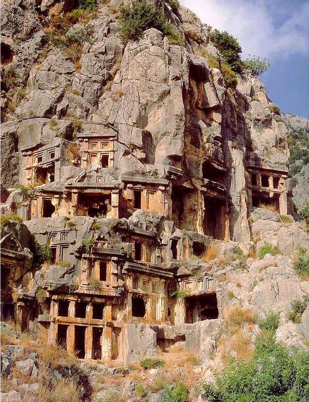 Lycian Rock Tombs (University of Maryland)